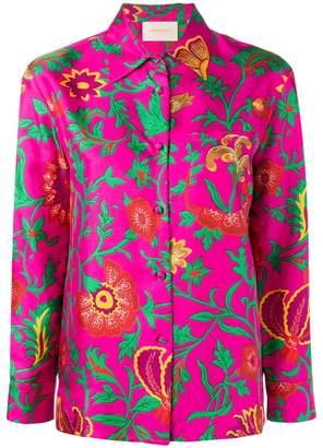 Dragon Optical La Doublej Flower print shirt