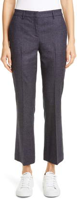 Fabiana Filippi Checkered Stretch Wool Pants