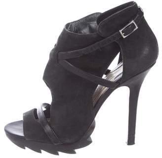 Camilla Skovgaard Leather Caged Sandals
