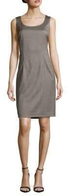Lafayette 148 New York Textured Scoopneck Dress