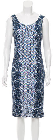 Tory BurchTory Burch Printed Bodycon Dress