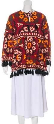 Rhode Resort Floral Print Tunic Top