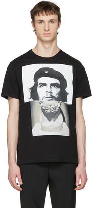 Neil Barrett Black Marble Guevara T-Shirt $300 thestylecure.com