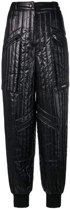 Misbhv quilted tapered trousers