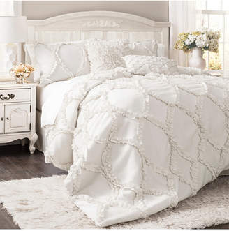 Lush Decor Avon 3-Piece Full/Queen Comforter Set Bedding