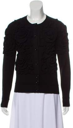 Sonia Rykiel Sonia by Floral Button-Up Cardigan
