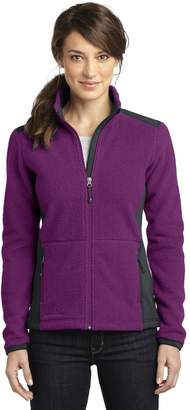 Eddie Bauer Ladies Full-Zip Sherpa Fleece Jacket. EB233