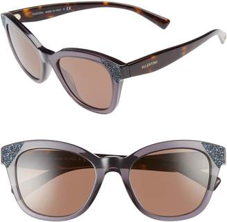 Valentino 52mm Cat Eye Sunglasses