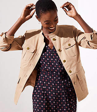 c596a24eae64 Military Jacket Womens Petite - ShopStyle