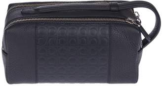 Salvatore Ferragamo Iconic Logo Dopp Kit Bag