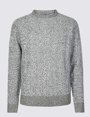 Marks and Spencer Cable Knit Jumper