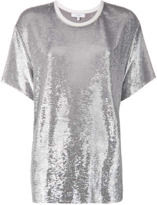 IRO sequin embellished T-shirt