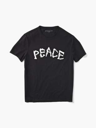 John Varvatos Skeleton Peace Tee
