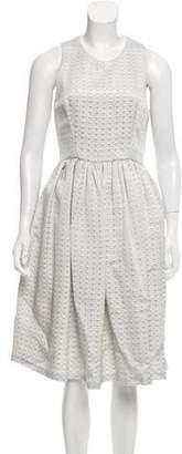 Emilia Wickstead Sleeveless Silk Dress