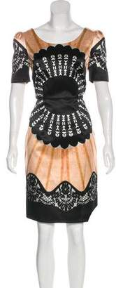 Temperley London Short Sleeve Knee-Length Dress w/ Tags