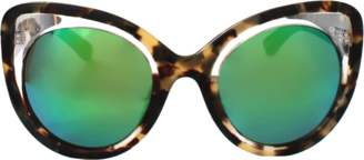 Erdem Illusion Cat Eye Sunglasses