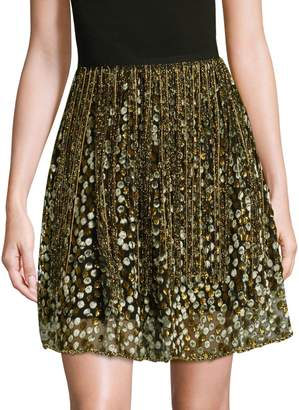 Elie Tahari Nicolette A-Line Skirt