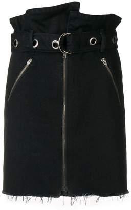 GRLFRND deconstructed short skirt