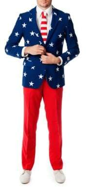 Opposuits Stars and Stripes Three-Piece Suit