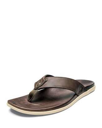 a18d68a45ef Mens Leather Thong Flip Flops - ShopStyle Canada
