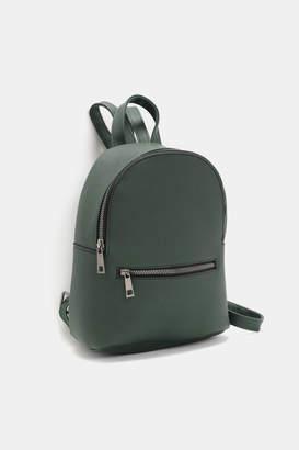 Ardene Basic Mini Faux Leather Backpack