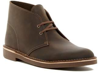 Clarks Bushacre Leather Chukka Boot - Wide Width Availabe