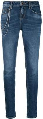 Liu Jo chain skinny tapered jeans