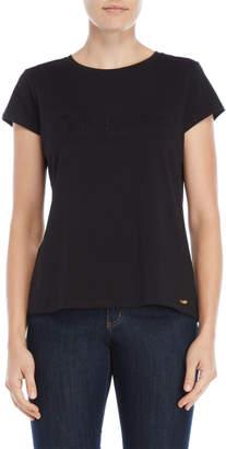 Calvin Klein Black Embossed Logo Tee