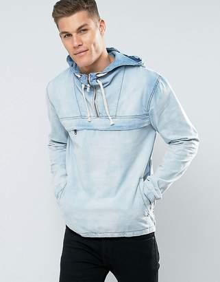 Blend of America Denim Hooded Jacket