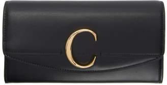 Chloé Black C Long Wallet