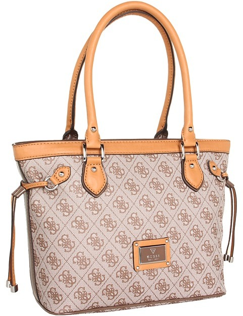 GUESS Scandal Carryall (Mocha) - Bags and Luggage