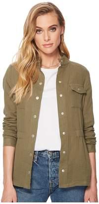 BB Dakota Burnell Cotton Gauze Utility Jacket Women's Coat