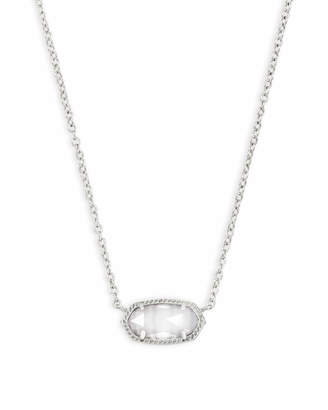 Kendra Scott Elisa Silver Pendant Necklace