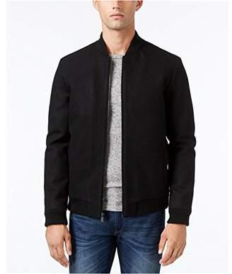 Calvin Klein Men's Wool Baseball Jacket