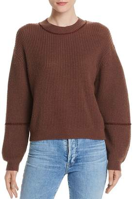 Joie Roshan Wool & Cashmere Ribbed Sweater