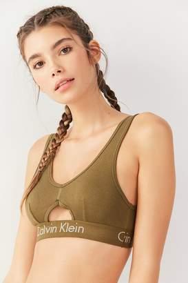 Calvin Klein Body Unlined Cutout Bralette