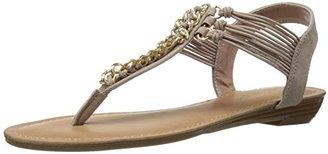 Madden Girl Women's Taffeta Flat Sandal $39.95 thestylecure.com