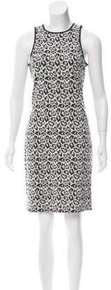 Tibi Leopard Print Mini Dress w/ Tags