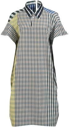 Marni Checked Collar Dress