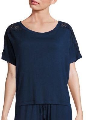 Eberjey Cara Short Sleeve Top $88 thestylecure.com