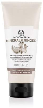 The Body Shop Mineral & Ginger Warming Massage Clay Face Mask