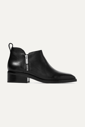 3.1 Phillip Lim Alexa Leather Ankle Boots - Black