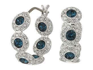 Swarovski Angelic Hoop Pierced Earrings