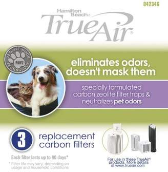 Hamilton Beach Replacement Carbon Pet Filter. Works with TrueAir 04384