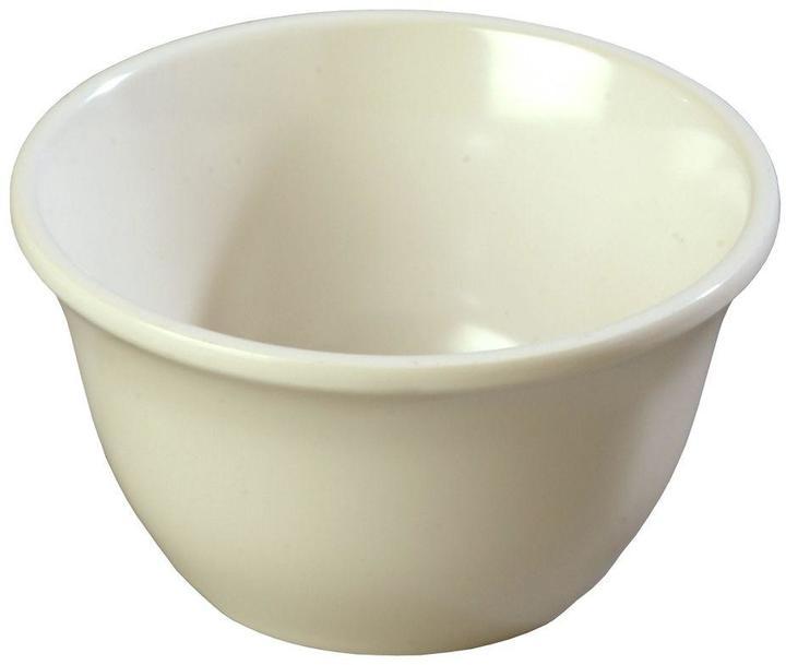 Carlisle 7.6 oz., 3.94 in. Diameter Melamine Bouillon Cup in Bone (Case of 48)