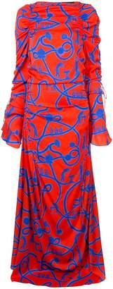 Ellery long printed dress