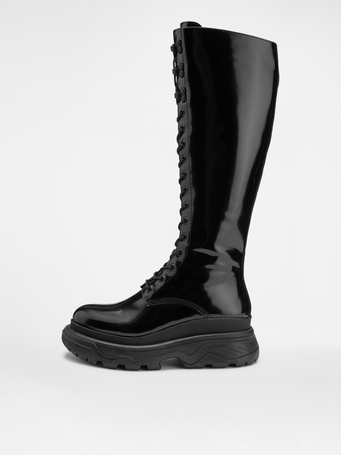 DKNY Ann Knee High Work Boot