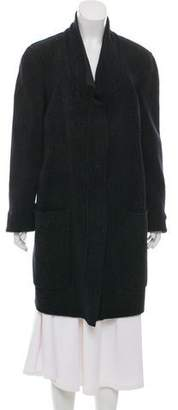 Calvin Klein Collection Speckled Merino Wool Coat