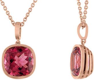 Tate 18K Rose Gold 5.91 Ct. Tw. Pink Tourmaline Necklace