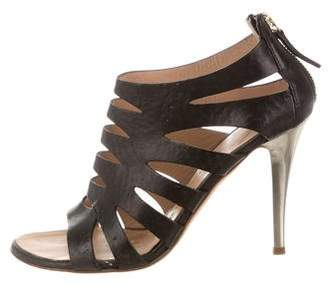 Giuseppe Zanotti Leather Caged Sandals